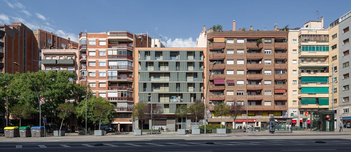 habitatges avinguda meridiana, 33 habitatges a sant andreu, barcelona