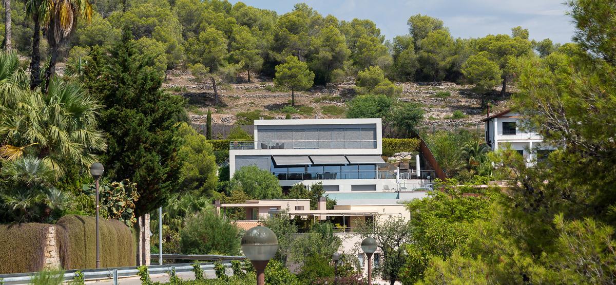 Casa Vidal vista general casa unifamiliar a Sitges, Barcelona