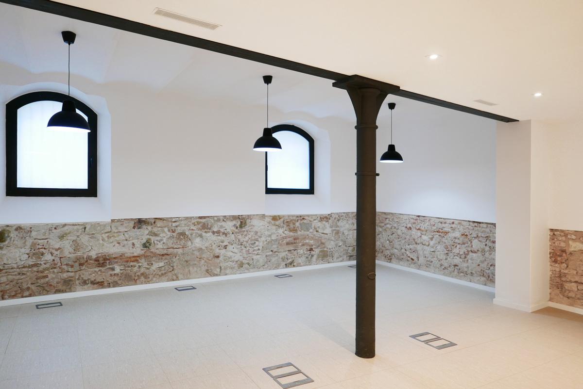 Aribau lofts, reforma oficinas, Barcelona
