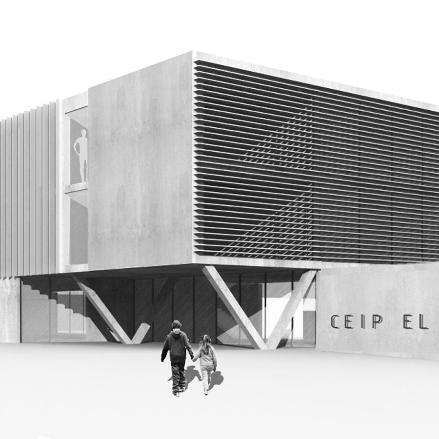 Finalistes concurs, CEIP El Morrot, Olot