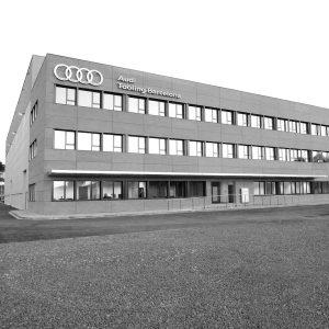 experiencia, Construcció edifici industrial, Audi Tooling Barcelona, Martorell