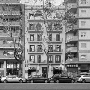 experiencia, Gran rehabilitació, edifici existent 13 habitatges, carrer St. Antoni Mª Claret, Barcelona