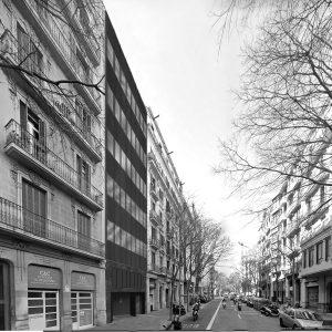 experiencia, reforma interior, oficines, carrer Viladomat, Barcelona