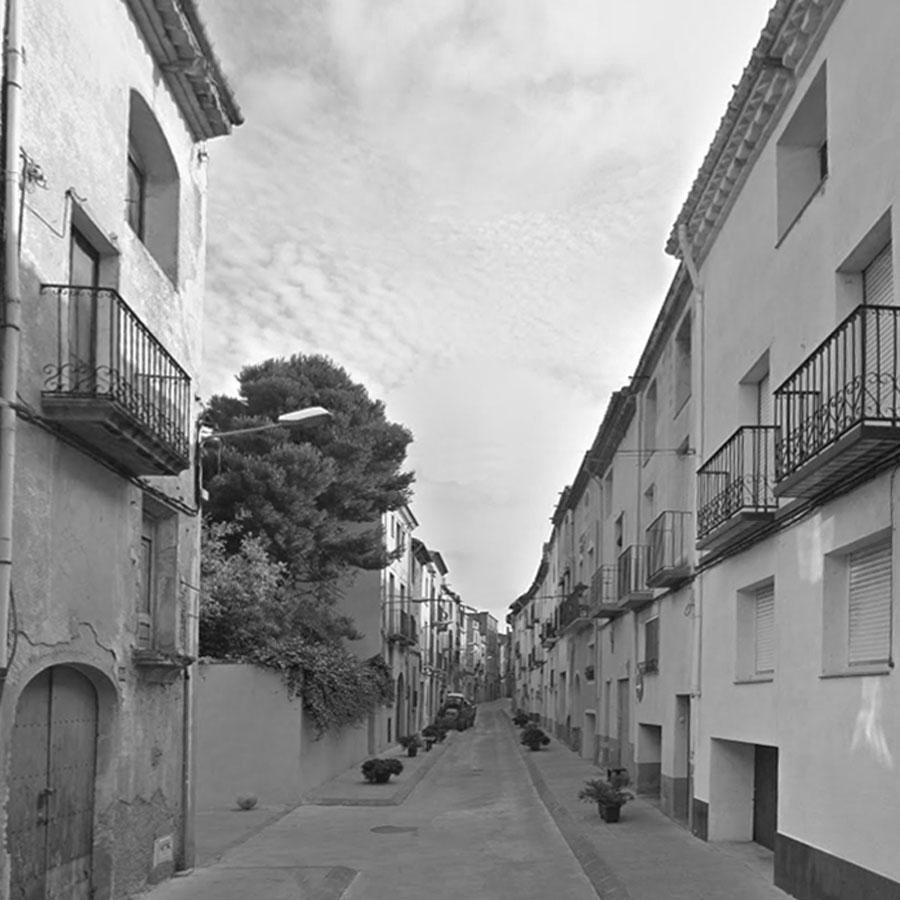 Edifici plurifamiliar per a 20 habitatges, carrer d'Avall, Montbrió del Camp