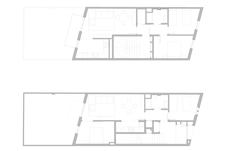 Documentació gràfica habitatges, Cornellà