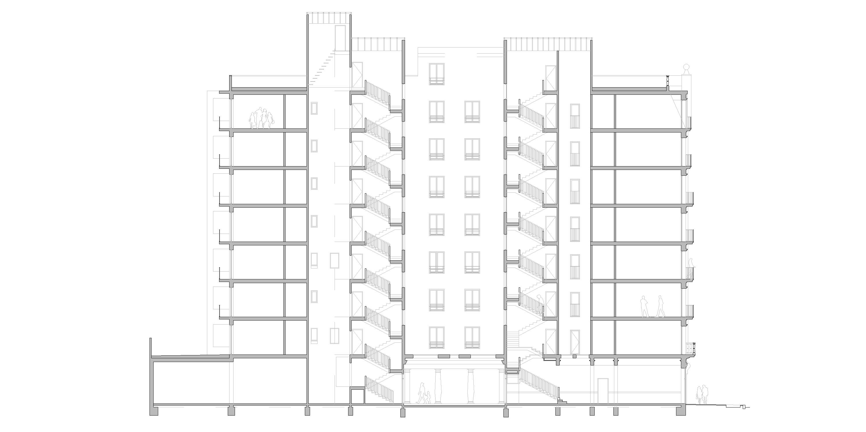 Secció habitatges, Barcelona