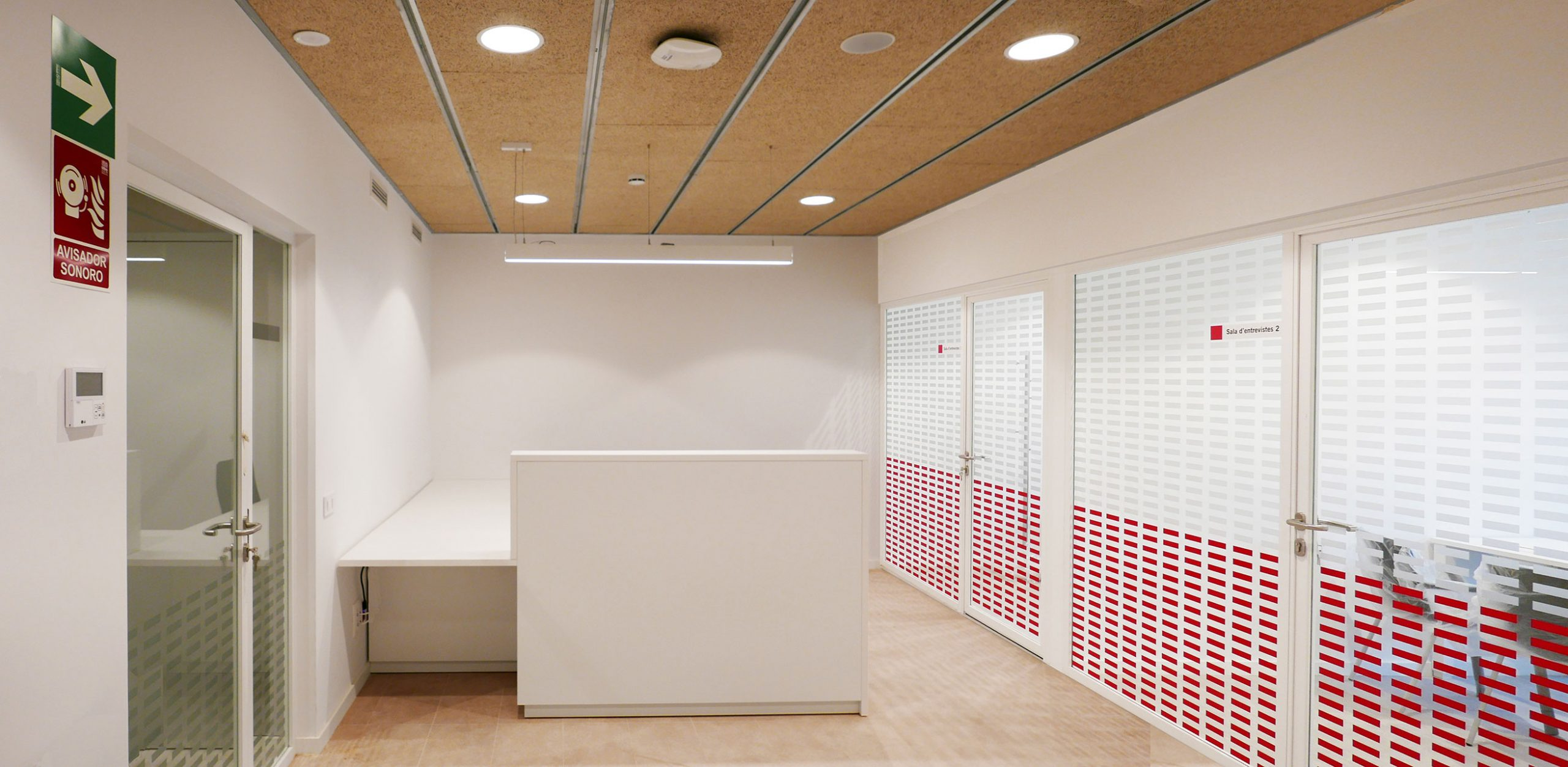 Interior oficines, Viladomat 127, SADEP