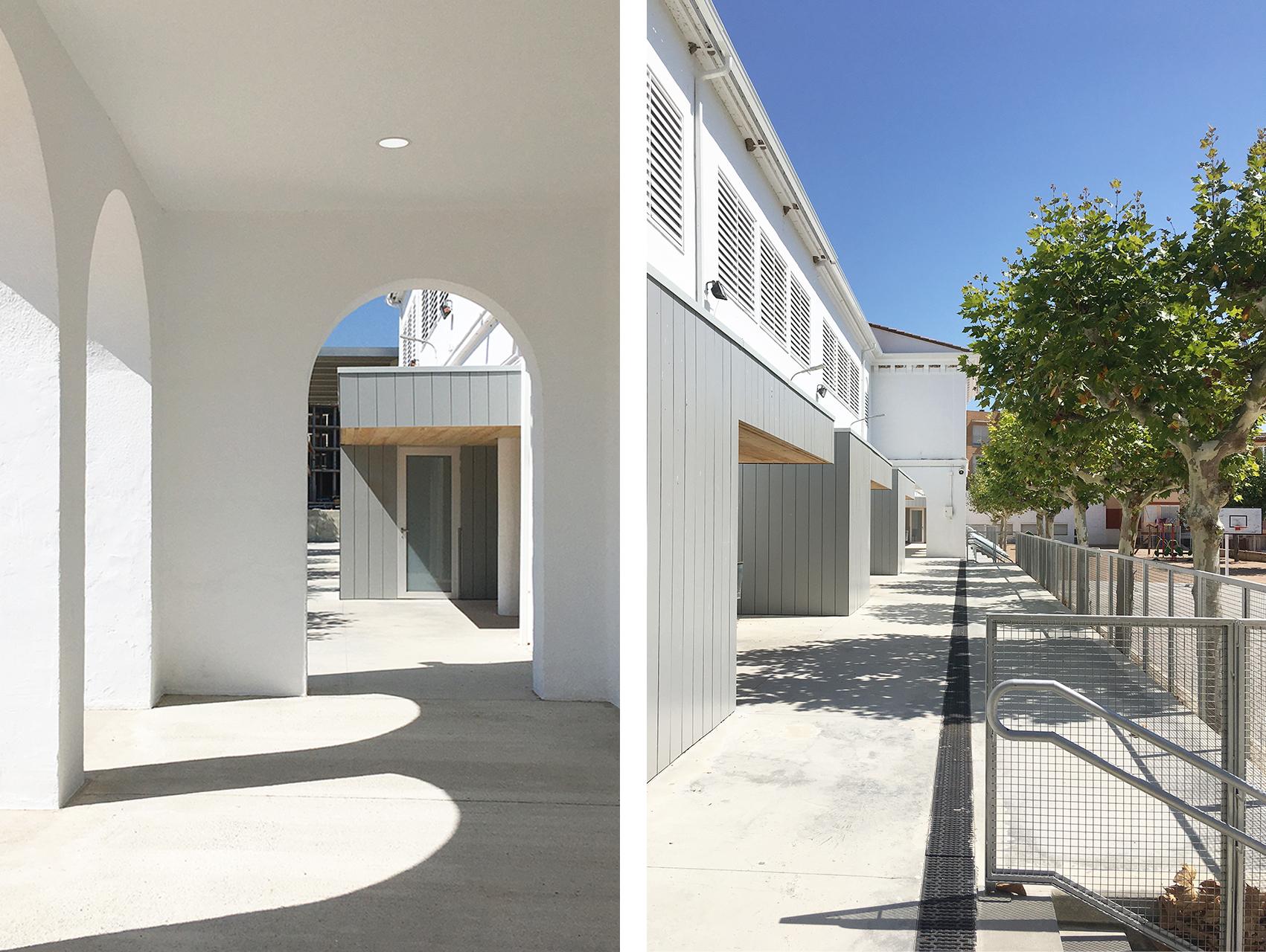 Adequació de l'espai exterior de l'escola